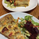 Zencefil quiche and lassagna