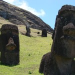 Rano Raraku Moai seventeen and eighteen